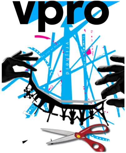 Ontwerp cover VPRO gids 2016